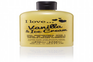 96ST I LOVE VANILLA & ICE CREAM BUBBLE BATH & SHOWER CREME 500ML