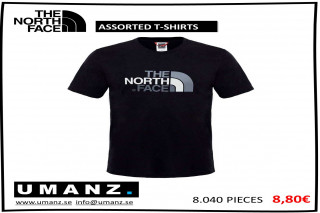 THE NORTH FACE SORTERADE T-SHIRTS